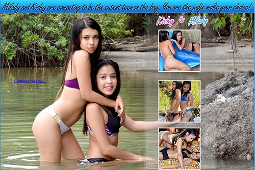 Teens Bay - Kishy and Milady