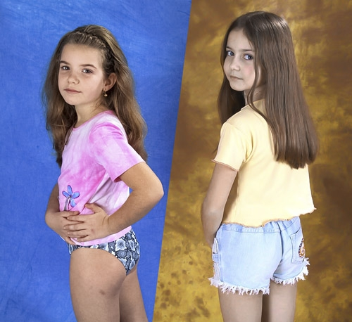 Mini-Models - Anya and Elly